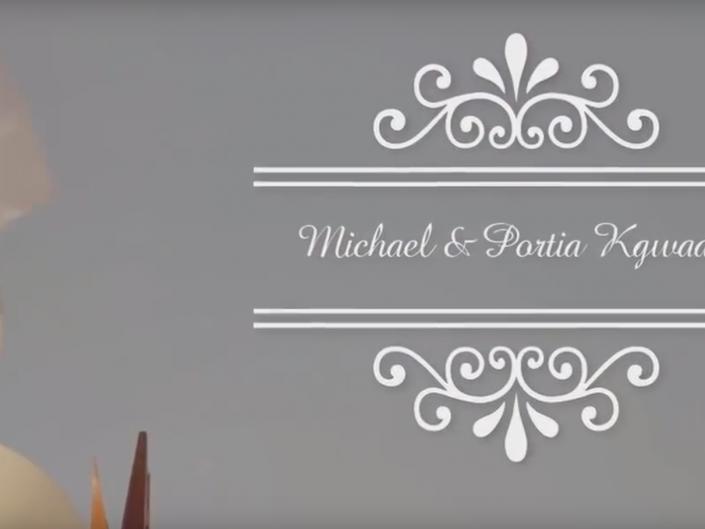 Michael & Portia Kwadi