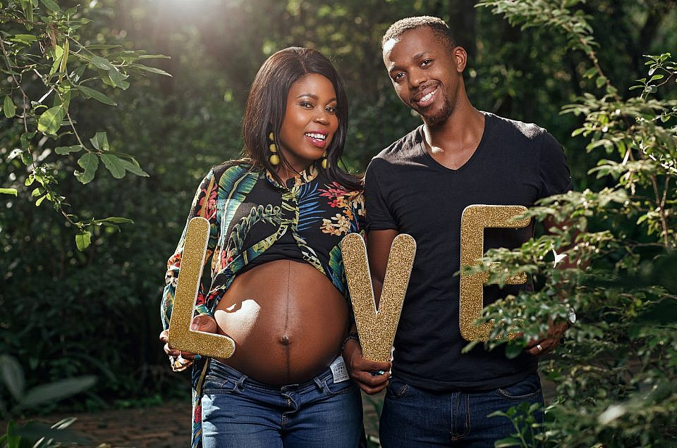 Pregnancy Shoot: Lerato